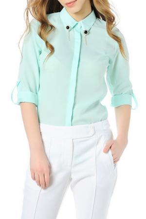 Рубашка Dewberry. Цвет: green