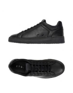 Низкие кеды и кроссовки ETQ AMSTERDAM. Цвет: черный