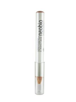 Корректирующий карандаш 01 идеально- бежевый Neobio. Цвет: бежевый