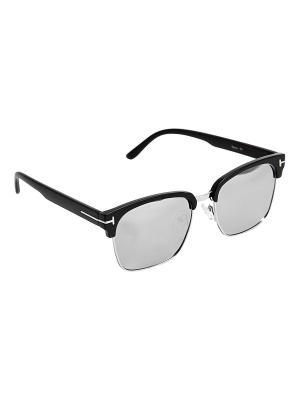 Солнцезащитные очки Kameo-bis. Цвет: черный, серебристый