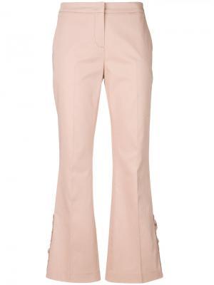 High waisted trousers Nº21. Цвет: розовый и фиолетовый