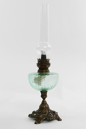 Керосиновая лампа Stilars. Цвет: бронза
