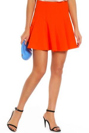 Юбка Mohito. Цвет: оранжевый
