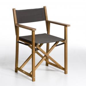 Кресло режиссерское Alfred AM.PM.. Цвет: темно-серый,темно-синий,экрю