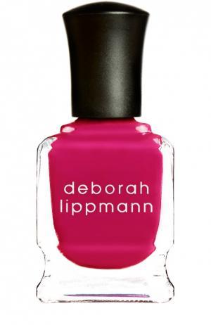 Лак для ногтей We Are Young Deborah Lippmann. Цвет: бесцветный