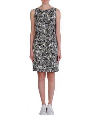 Короткое платье PEOPLE TREE. Цвет: черный