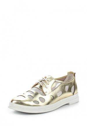 Ботинки ElRosso El'Rosso. Цвет: золотой