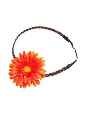 Повязка Kameo-bis. Цвет: оранжевый, желтый, коричневый