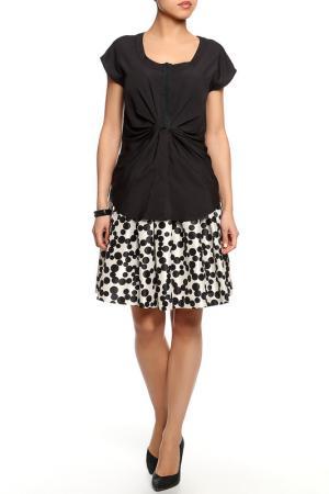 Блуза SEVENTY. Цвет: черный