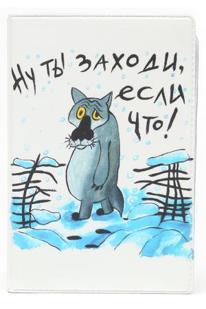 Визитница MITYA VESELKOV. Цвет: белый