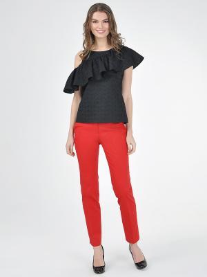 Блузка VITA STRETTA. Цвет: черный