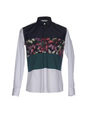 Pубашка DAVID NAMAN. Цвет: зеленый