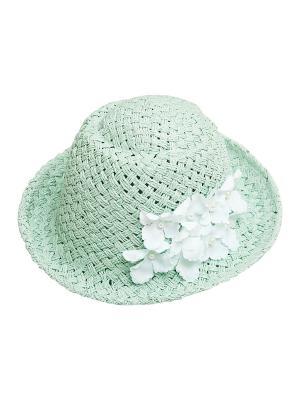Шляпа Kameo-bis. Цвет: зеленый, белый
