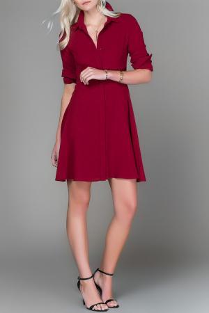 Платье Milla. Цвет: красный