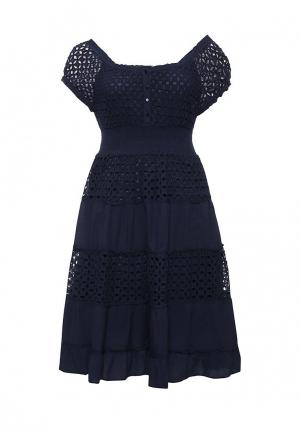 Платье Fresh Cotton. Цвет: синий