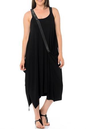 Платье Milanesse. Цвет: черный