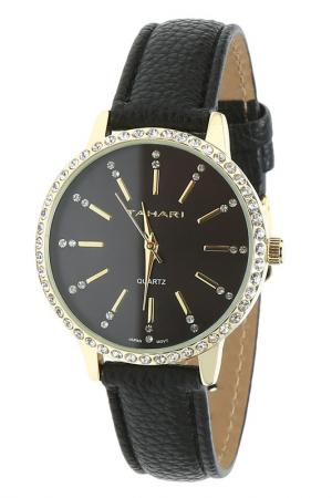 Часы TAHARI. Цвет: gold,  black