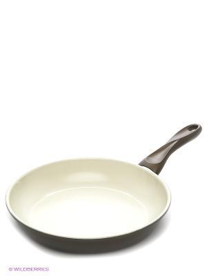 Сковорода 26 см Winner. Цвет: коричневый