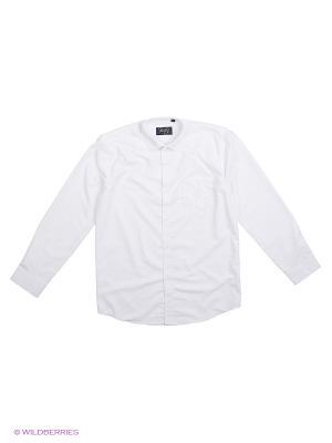 Рубашка Briton. Цвет: белый