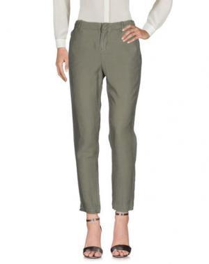 Повседневные брюки JOIE. Цвет: зеленый