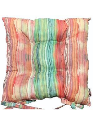 Подушка на стул Болеро Altali. Цвет: оранжевый