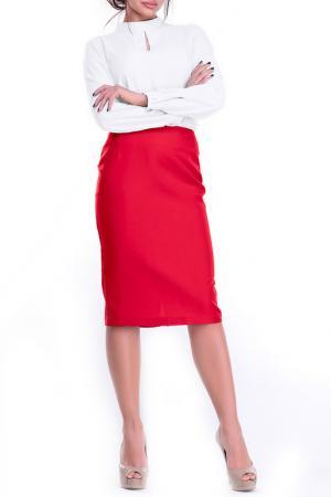 Юбка MAURINI. Цвет: красный