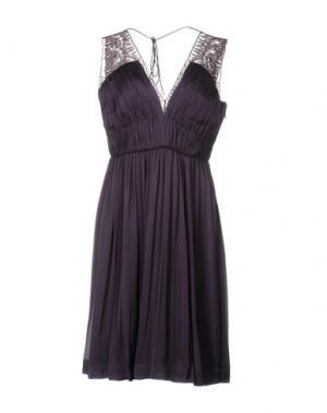Платье до колена CATHERINE DEANE. Цвет: фиолетовый