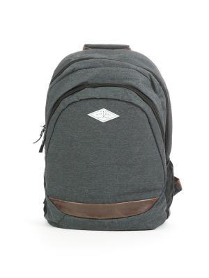Рюкзак PROSCHOOL TWILL OUT Rip Curl. Цвет: антрацитовый, серый меланж, черный
