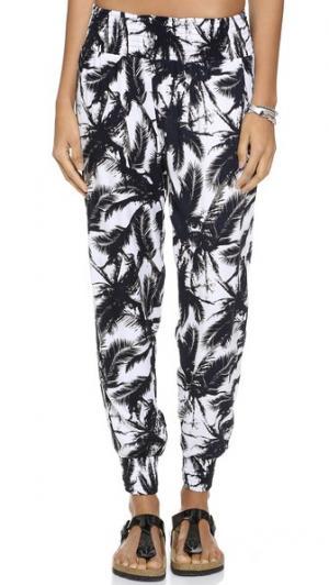 Пляжные брюки Kahuku MIKOH. Цвет: полинезийская пальма