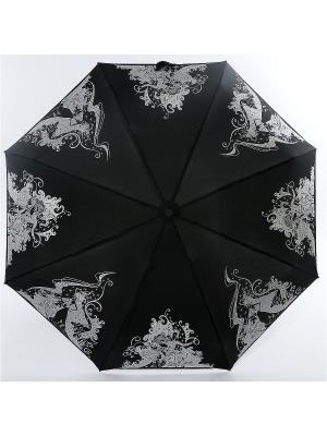 Зонт Zest. Цвет: черный, белый, серый