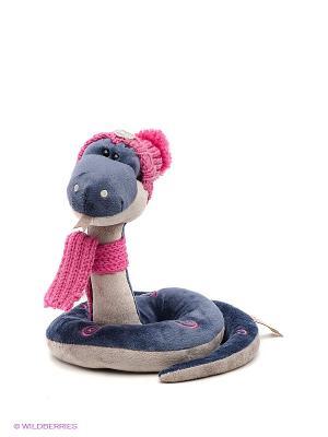 Мягкая игрушка Змей Гарик ORANGE. Цвет: синий, розовый