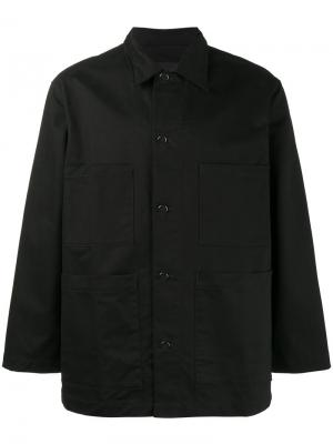 Куртка-рубашка с принтом на спине Ideology Liam Hodges. Цвет: чёрный