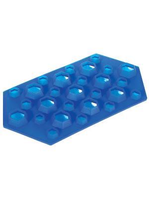 Форма для льда Regent inox. Цвет: синий