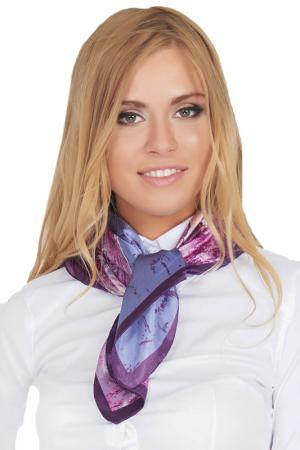 Платок шейный Giglio. Цвет: фиолетовый
