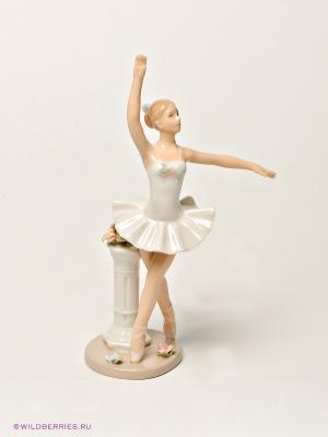 Фигурка Балерина Pavone. Цвет: бежевый
