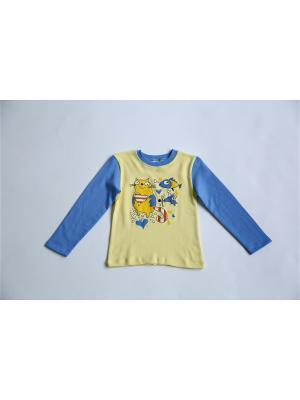 Пижама Iota. Цвет: голубой, желтый