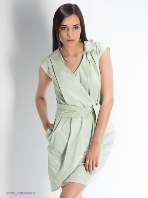 Платье Manila Grace. Цвет: светло-зеленый
