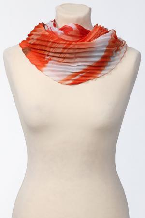 Платок Frantelli. Цвет: оранжевый, серый