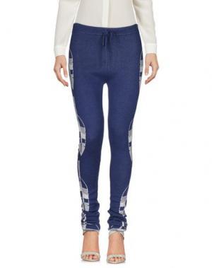 Повседневные брюки PAOLO BERGAMASCHI. Цвет: синий