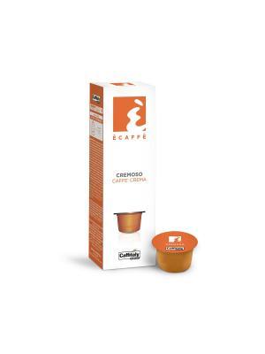 Кофе в капсулах Cremoso ECAFFE CAFFITALY. Цвет: оранжевый