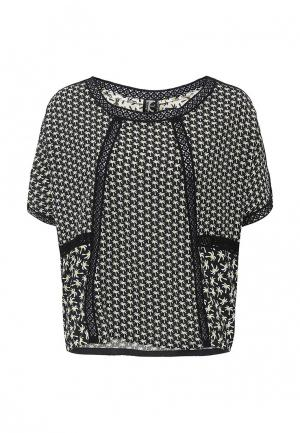 Блуза Tricot Chic. Цвет: черно-белый