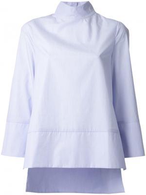 Блузка в полоску Studio Nicholson. Цвет: синий