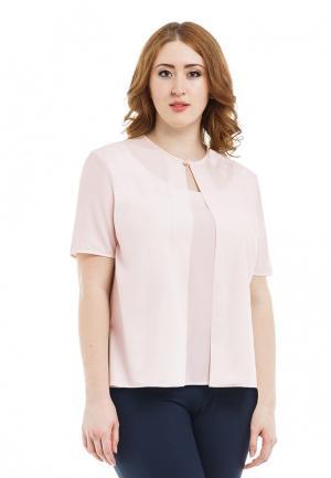 Блуза XLady. Цвет: розовый