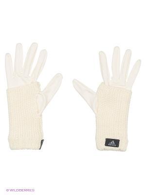 Перчатки Ch P Gloves Adidas. Цвет: белый