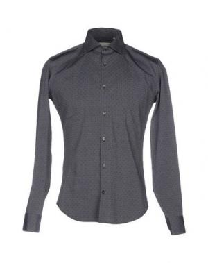 Pубашка MASSIMO BRUNELLI. Цвет: стальной серый
