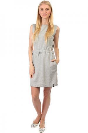 Платье женский  2XHOLD G Grey Emblem. Цвет: серый