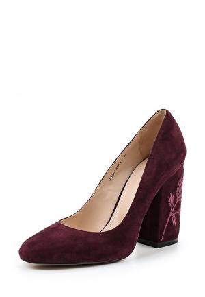 Туфли Calipso. Цвет: бордовый