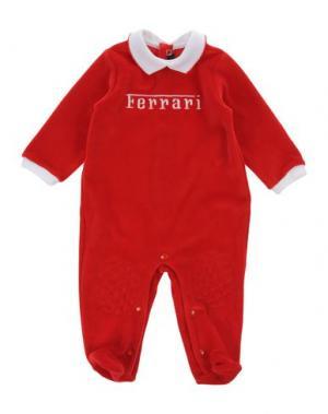 Детский комбинезон FERRARI. Цвет: красный