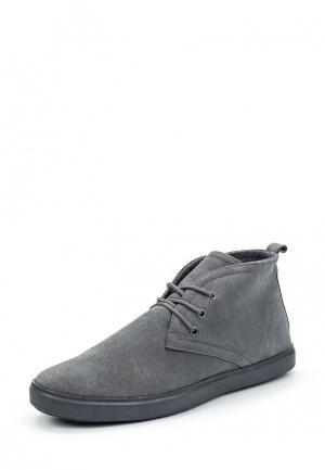 Ботинки Piazza Italia. Цвет: серый
