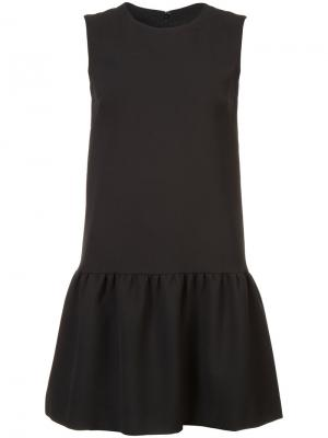 Sleeveless dress Nicole Miller. Цвет: чёрный